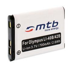 Batteria Li-40b/Li-42b per Olympus mju ?-550 WP, 700 710 720 SW, 725 SW, 730 740