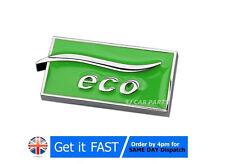 LPG Auto Gas ECO Metal Chrome Badge Emblem Logo Sticker