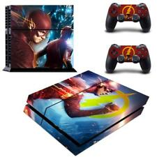 Regular PS4 Consoles Controllers DC Comic The Flash Vinyl Skin Decals Stickers