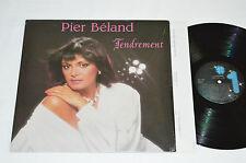 PIER BELAND Tendrement LP Les Disques #1 Quebec Vinyl NO-1845 VG+/NM Shrink