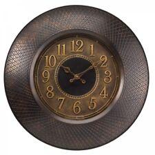 "Richmond Antique Design Garden Wall Clock 20"" 50cm Outdoor Indoor Brown / Mauve"