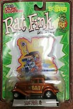 1:64 Racing Champions Rat Fink Orange BAD! Die Cast