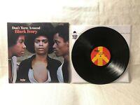 Black Ivory Don't Turn Around LP Today Records TLP-1005 VG+/VG+ Album Vinyl