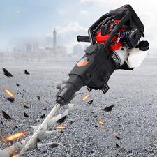 Gasoline Demolition Jack Hammer Concrete Breaker Punch Chisel Bit 1800 Watt Usa