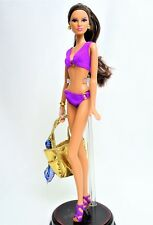 Barbie Basics Model Muse No.14 Collection 003 Purple Swimsuit Mint out of Box