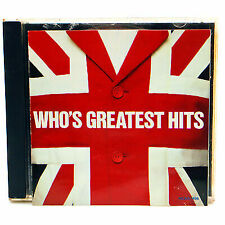 Who's Greatest Hits by The Who (CD, MCA) Free Shipping In Canada