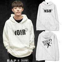 Kpop B.A.P Cap Hoodie NOIR Sweatershirt Sweater BAP Coat Yong Guk Dae Hyun
