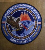 Original & HTF USAF Northrop Grumman SBIRS GEO-4 Satellite Launch Patch - 4in.
