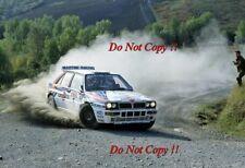 Andrea Aghini Martini Lancia Delta Integrale San Remo Rally 1992 Photograph 1