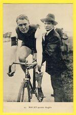 cpa CYCLISME Ed. ARGENTEUIL Le SPRINTER ANGLAIS William BAILEY Coureur Cycliste