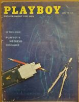 Playboy April 1959 * Very Good Condition * Free Shipping USA