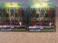 GI Joe Crimson Guatd Force Valorvs Venom Tomax & Xamot