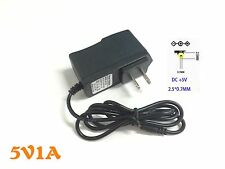 Universal 2.5mm US Power Supply AC Charger 5V 1A Adapter For Android Tablet PC
