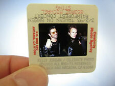 More details for original press photo slide negative - george michael & sting - 1993