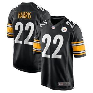 Youth Pittsburgh Steelers Najee Harris Nike Black 2021 1st Round Pick Jersey