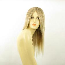Perruque femme mi-longue blond méché blond très clair VICTOIRE 15t613