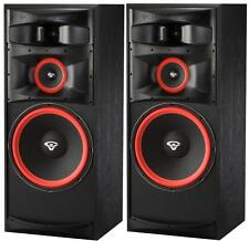 "Pair Set Cerwin Vega XLS-15 15"" 3-Way Floorstanding Tower Speakers Home Theater"