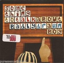 BADLY DRAWN BOY - Something To Talk About (UK 3 Tk CD Single Pt 1)