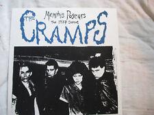 The Cramps 'MEMPHIS POSEURS - 1977 DEMOS' Limited Ed. Silkscreen Cover, 16/500