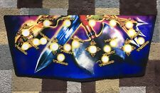 Gauntlet Legends Arcade Control Panel Overlay Decal Sticker CPO Midway Atari