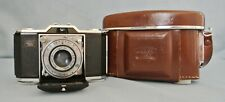 VINTAGE FOLDING ZEISS IKON IKONTA 35 - MODEL 522/24 WITH CASE - FULLY WORKING.
