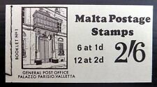 MALTA 1970 - 2/6 Booklet SB1 SEE BELOW NF637