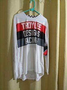 Troy Lee Designs Gp Air Continental White Jersey Size XL