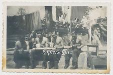Foto Russland-Feldzug Weliki Nowgorod-Stellung-Soldaten 2.WK (1288)