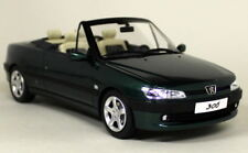 Otto 1/18 Scale - Peugeot 306 Cabriolet Roland Garros Green Resin cast Model Car