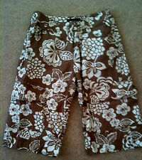 Boden Cotton Floral Shorts for Women