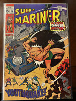 Sub-Mariner Issue #28 Marvel Comics VG to FN - 08/1970 - Free Shipping!