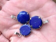 Lapis Lazuli Stone in silver Pendant (17 ct)  From Afghanistan