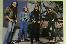 METALLICA Full Page Pinup magazine clipping hands in pockets