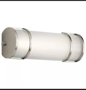 Kichler Lighting 11141NILED 1 Light Transitional Linear Bath Vanity