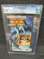 Ultimate X-Men #17 (2002) Mark Millar Story CGC 9.8 White Pages C857