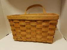 Country Woven Collection GRAND Basket with Swivel Handle