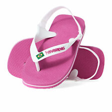Havaianas Baby Brasil Logo Ii Kids Footwear Flip Flops - Hollywood Rose