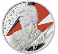 2020 DAVID BOWIE 1oz Silver Proof Coin