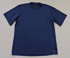 Patagonia Performance Baselayer Capilene Mens Sz Xl Blue Short Sleeve Shirt Exc