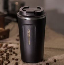 Vacuum Coffee Cup 380/510ml Stainless Steel Lid Car Water Bottle Hot Stylish