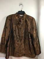 Laura Ashley Womens size large detailed jacket