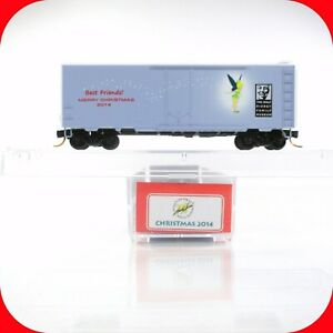 N Scale LOWELL SMITH DISNEY Christmas 2014 TINKER BELL Box Car MICRO TRAINS RARE