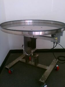 NEW Accumulation Table 3' diameter with variable speed control!!