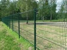 350 meters x 2.0m High V Mesh Green Grey Black Brown Panel Security Fencing