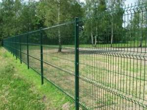 525 meters x 2.0m High V Mesh Green Grey Black Brown Panel Security Fencing