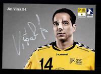 Jiri Vitek Autogrammkarte HSC 2000Coburg Original Signiert Handball + A165515