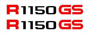 2 X BMW R 1150 GS GS ADVENTURE Tail Stickers-Decals in many Coloures+REFLECTIVE