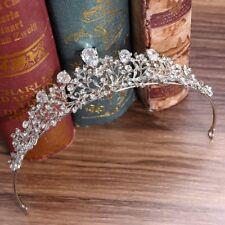 Bride Princess Crown Zircon Luxury Wedding Women Tiara Elegant Jewelry Headwear