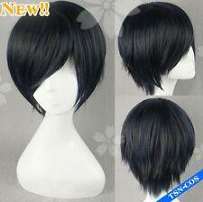 Persona 3 Minato Arisato Gekkoukan Cosplay Costume wig