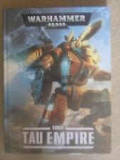 Warhammer 40,000 Tau Empire Codex Hardcover Great Condition